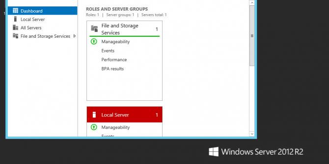 Windows 2012 RDP