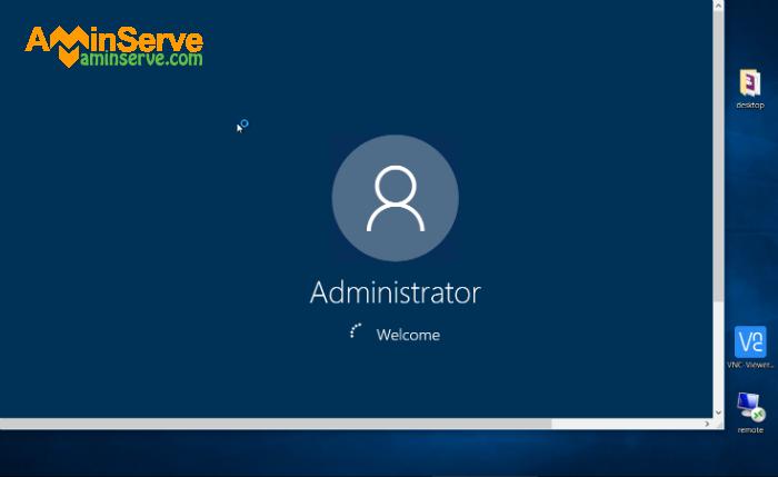 Windows 10 admin RDP