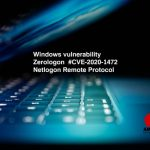 Zerologon Windows vulnerability - Critical