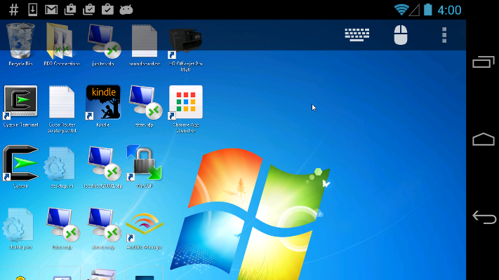 RDP in android