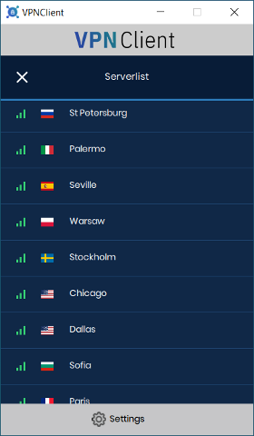 VPN country 2
