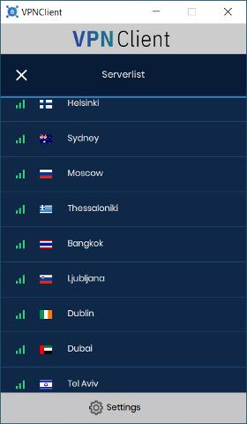 VPN country 3